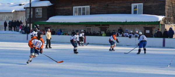 Жаркая игра на льду