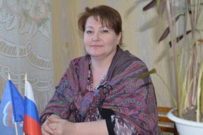 Ольга Ярцева — председатель ревизионной комиссии