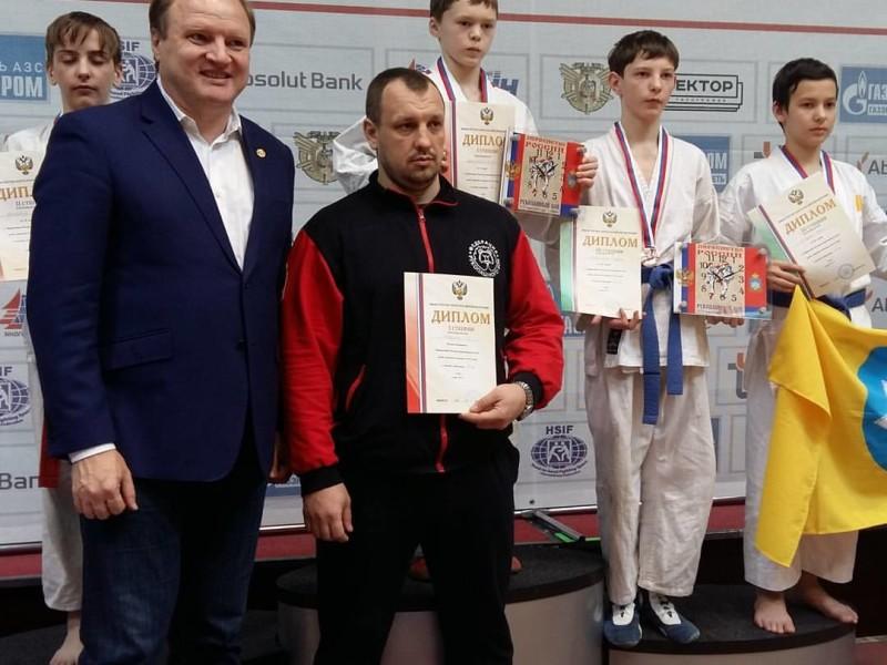Парни из стали:  Радион Тихомиров — призёр первенства России