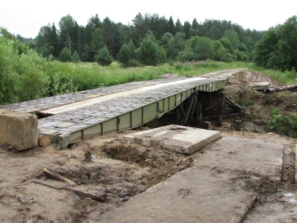 У наших соседей: новый мост в Меже