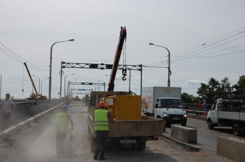 В Костромской области узнали, кто лучше всех разбирается в ремонте моста