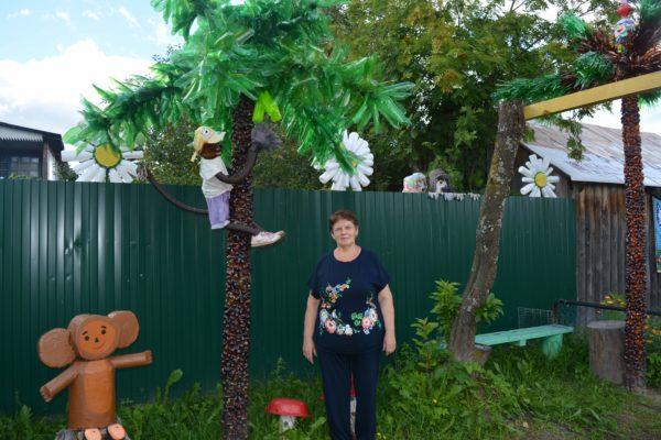 Внештатник сообщает: Пальмовый островок в Мантурове