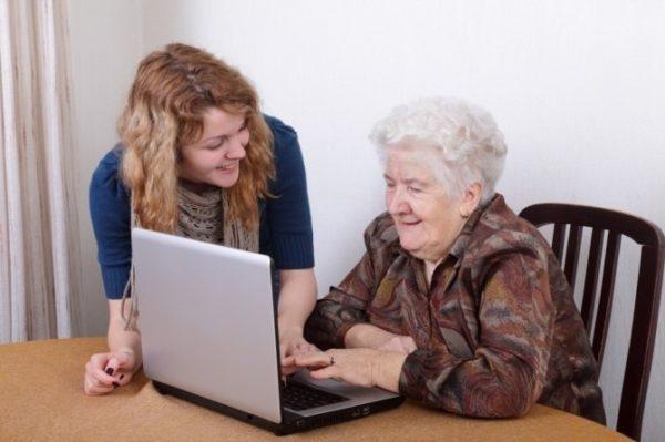 Интернет для пожилых