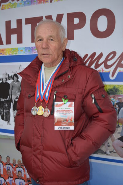 И в 80 лет он — чемпион!