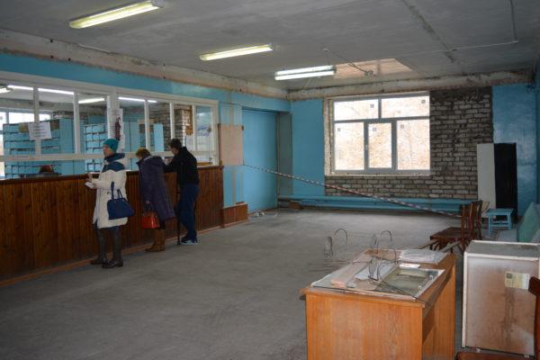 Обновление регистратуры поликлиники