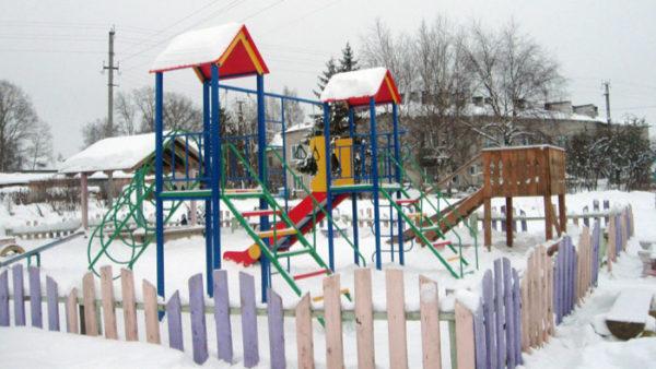 Это сделано:в Чухломе открыта детская площадка
