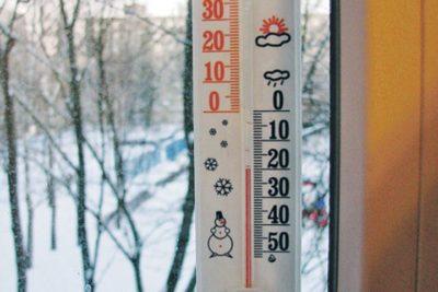 В Костромской области прогнозируется понижение температуры