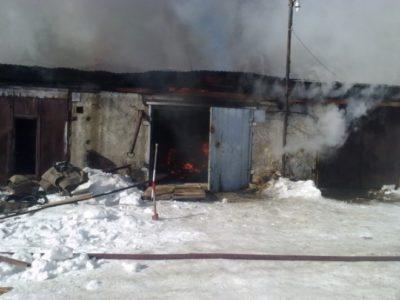 Пожары: И дома, и гаражи