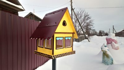 Проект «Птичья столовая». И снегиря баснями не кормят
