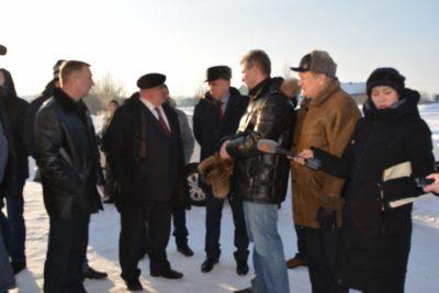 Визит главы региона в Мантурово и поселок Октябрьский состоялся на этой неделе