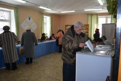 В Мантуровском районе действующему  Президенту РФ была оказана широкая поддержка
