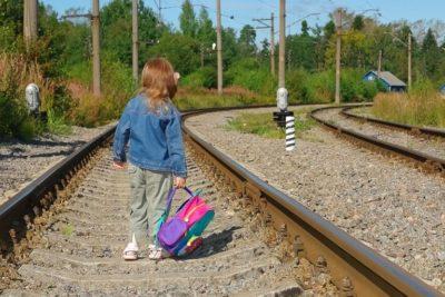 Железная дорога — зона повышенной опасности!