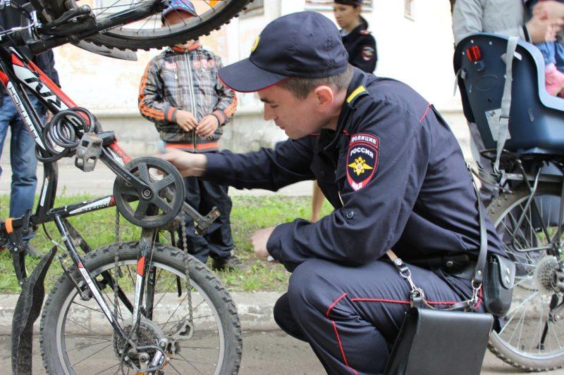 Защити свой велосипед!