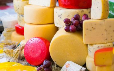 На сырном фестивале — мантуровские сыры