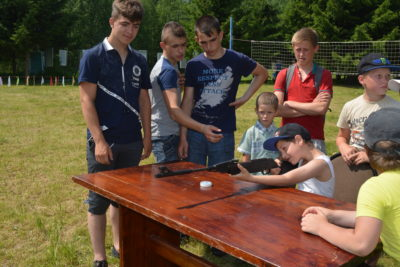 Молодые и активные жители района собрались в Самылове