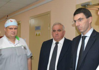 Полномочный представитель Президента России в ЦФО Игорь Щеголев сегодня побывал с рабочим визитом в Костромской области
