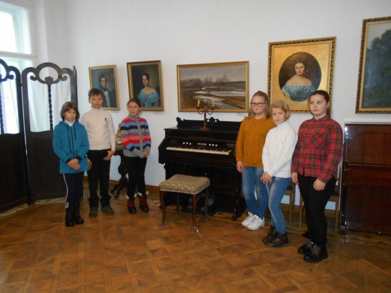 Школьные новости:  Ребята из Октябрьского открыли для себя Галич