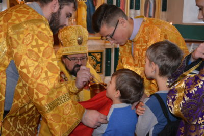 Архиерейский визит: Епископ Галичский  и Макарьевский Алексий