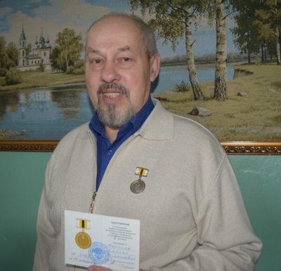 Сергею Торопову вручена награда