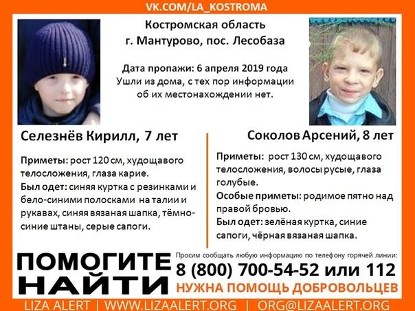 Внимание! Помогите найти детей!