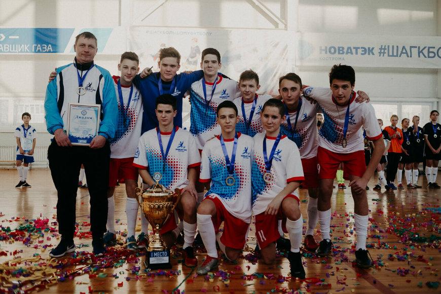 Мантуровские футболисты сейчас в «Орлёнке»
