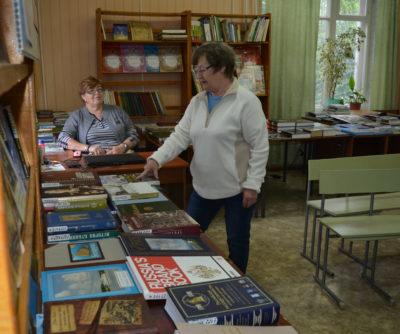 «Губернаторская библиотека» гостит на Мантуровской земле