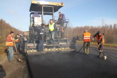 Завершается  ремонт на трассе Кострома — Верхнеспасское