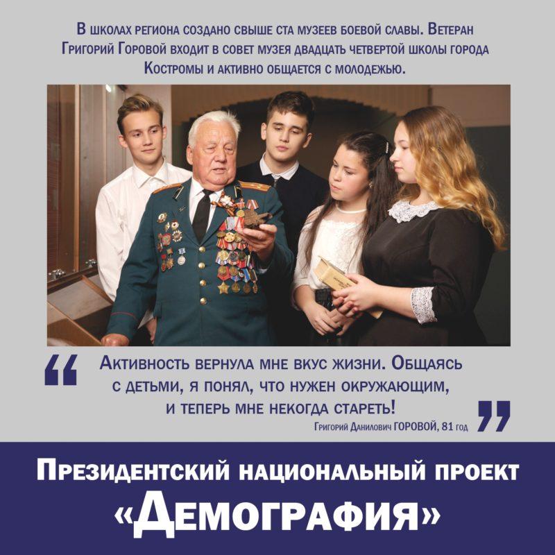 Президентский национальный проект «Демография»
