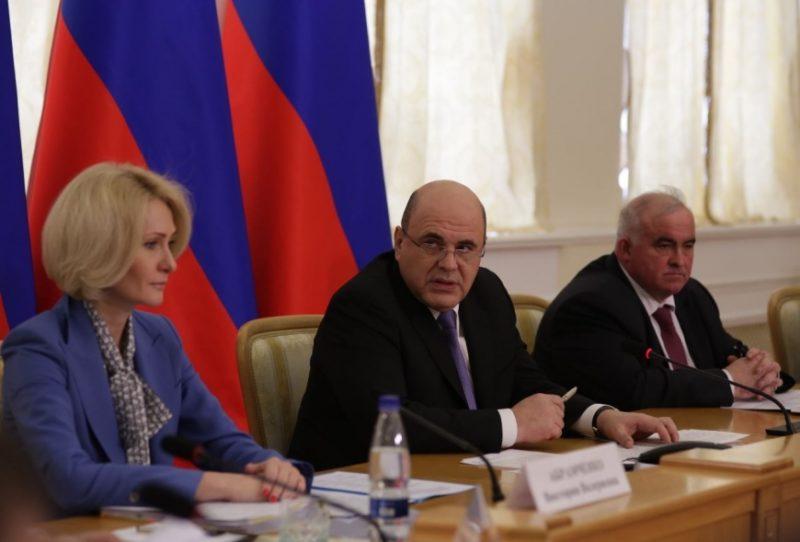 Михаил МИШУСТИН: «Все наши национальные проекты должны дойти до людей»