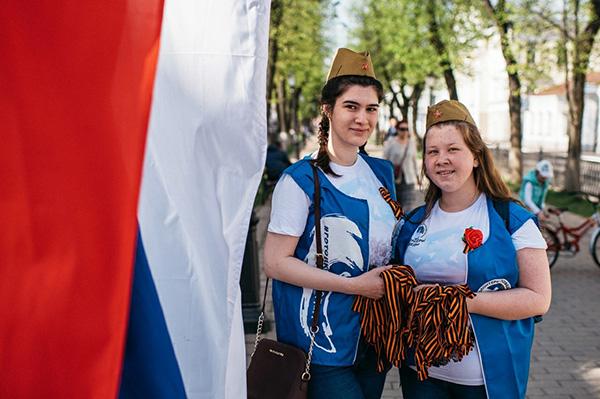 Акция «Георгиевская ленточка» стартовала в Костромской области