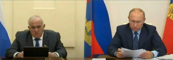 Президент России поддержал Сергея Ситникова в решении участвовать в выборах губернатора Костромской области