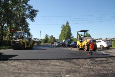 Дорожный ремонт: Вдоль да по Нагорной