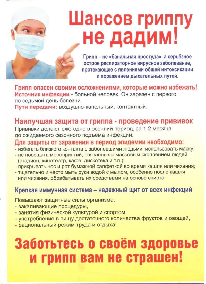 Важность вакцинации от гриппа