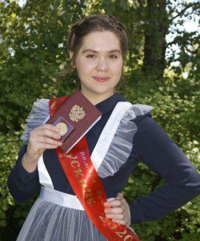Среди лучших выпускников Костромской области 2020 года — Мария Громова