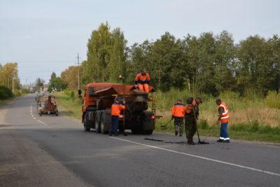 НП в действии: Ремонт дорог продолжается