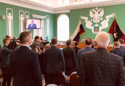 Губернатор Костромской области Сергей Ситников принес присягу на верность народу и Конституции Российской Федерации