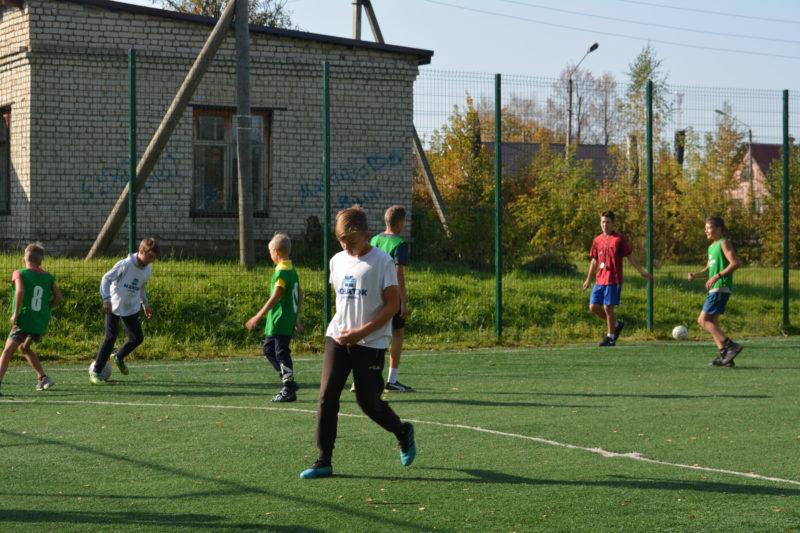 Спорт — норма жизни: ФУТБОЛ БЕЗ ГРАНИЦ