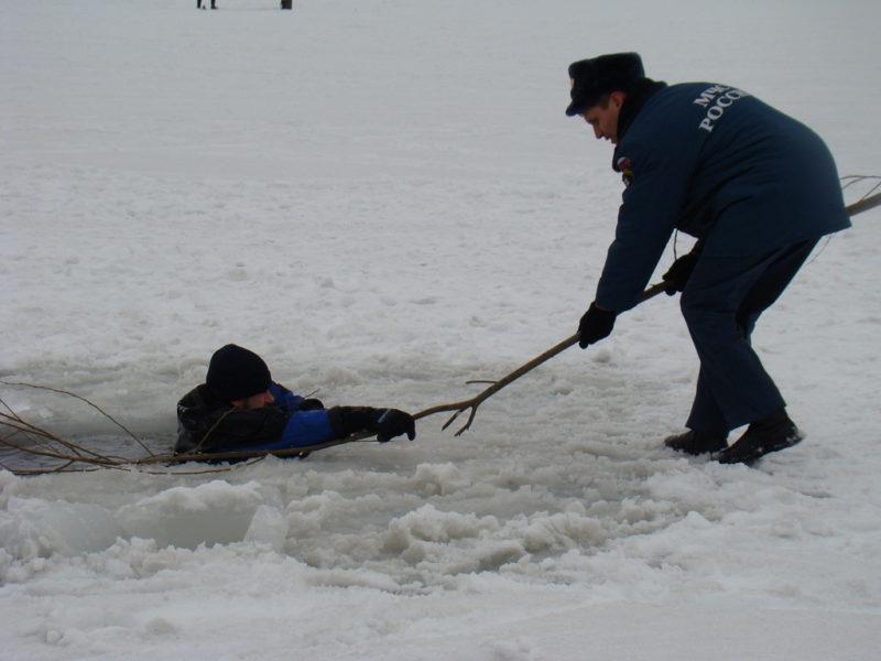 ПАМЯТКА по правилам безопасности при нахождении на льду