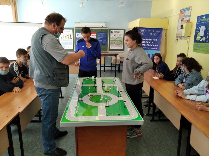 НП в действии:  В школе № 5 г. Мантурово Костромской области работает кабинет безопасности дорожного движения