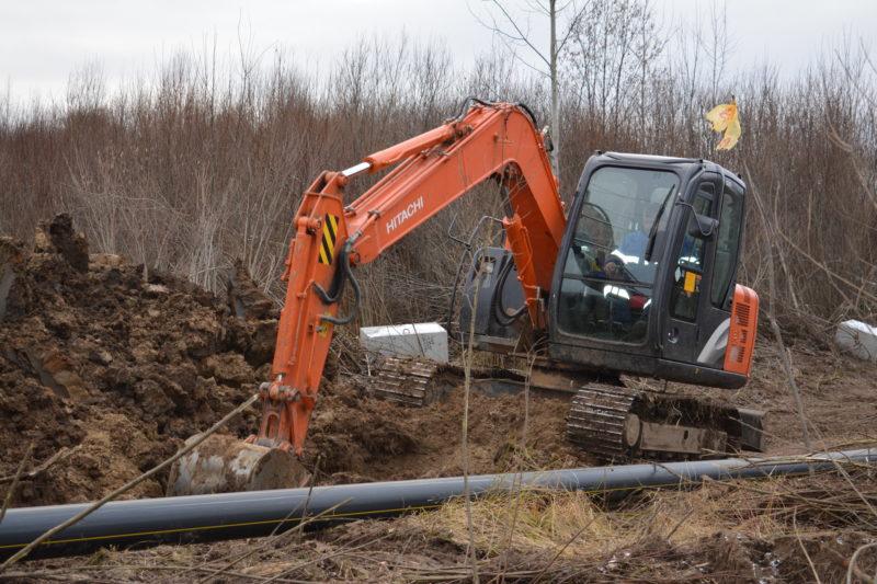 Новостройки: В г.о. г. Мантурово Костромской области — первые метры газопровода