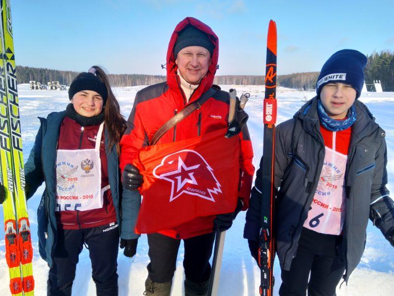 Воспитание патриотов:  Лыжню юнармейцам!