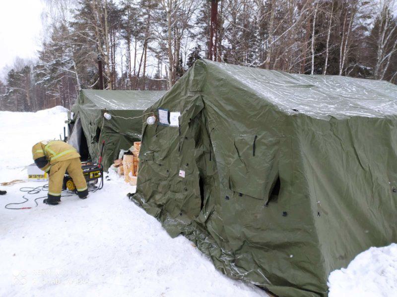 В Костромской области для водителей развёрнут пункт обогрева