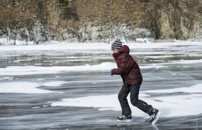 Внимание: тонкий лёд!