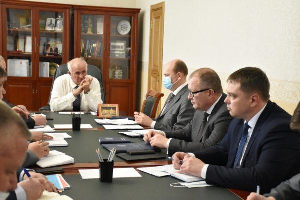 Сергей Ситников провёл рабочее совещание по вопросам взаимодействия служб в чрезвычайных ситуациях