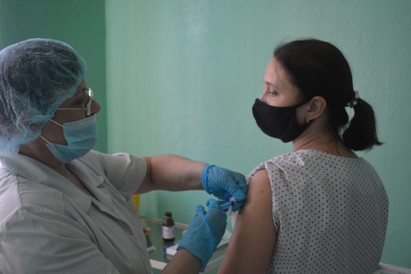 Если выпоставили прививку, примите участие вофлешмобе!