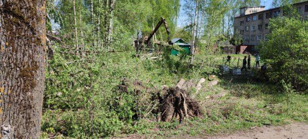 Дороги Мантуровского района расчищены для проезда автотранспорта
