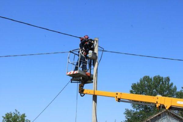 Электроснабжение в Мантуровском районе до сих пор не восстановлено