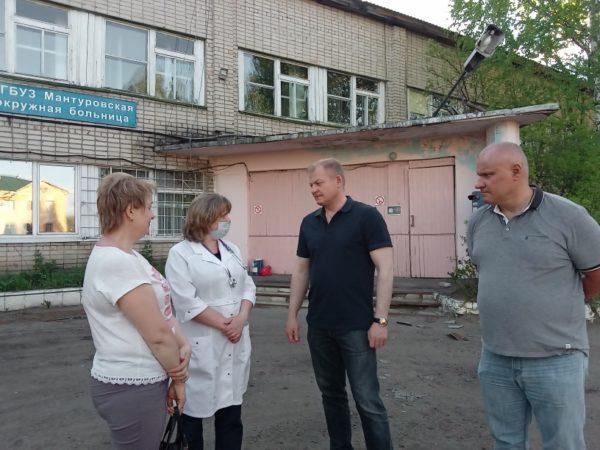 Представители областного отделения «Единой России» пришли на помощь жителям региона