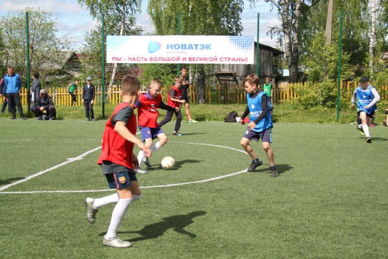 Спорт — норма жизни: На пути к большому футболу