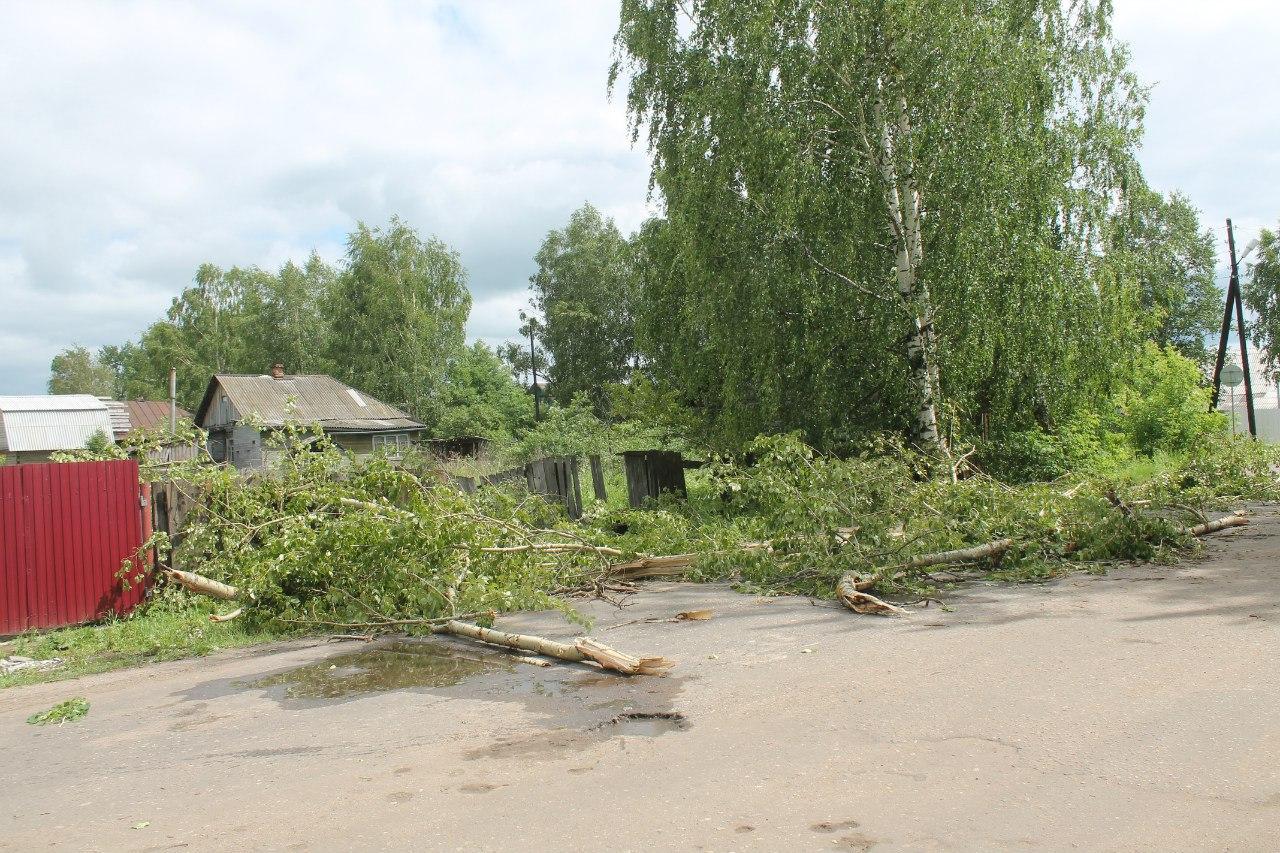 Устранение последствий майского урагана